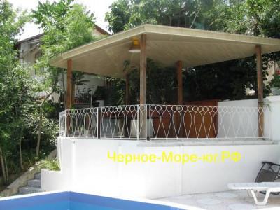 Дом с бассейном под ключ в Гурзуфе, ул. Гурзуфское шоссе, 8