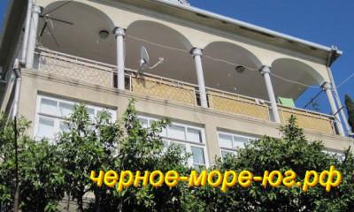 Гагра частный сектор по ул. Генерала Дбар, 2