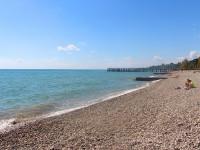 Обзор на лучшие пляжи города Новый Афон - фотографии, отзывы туристов 2021